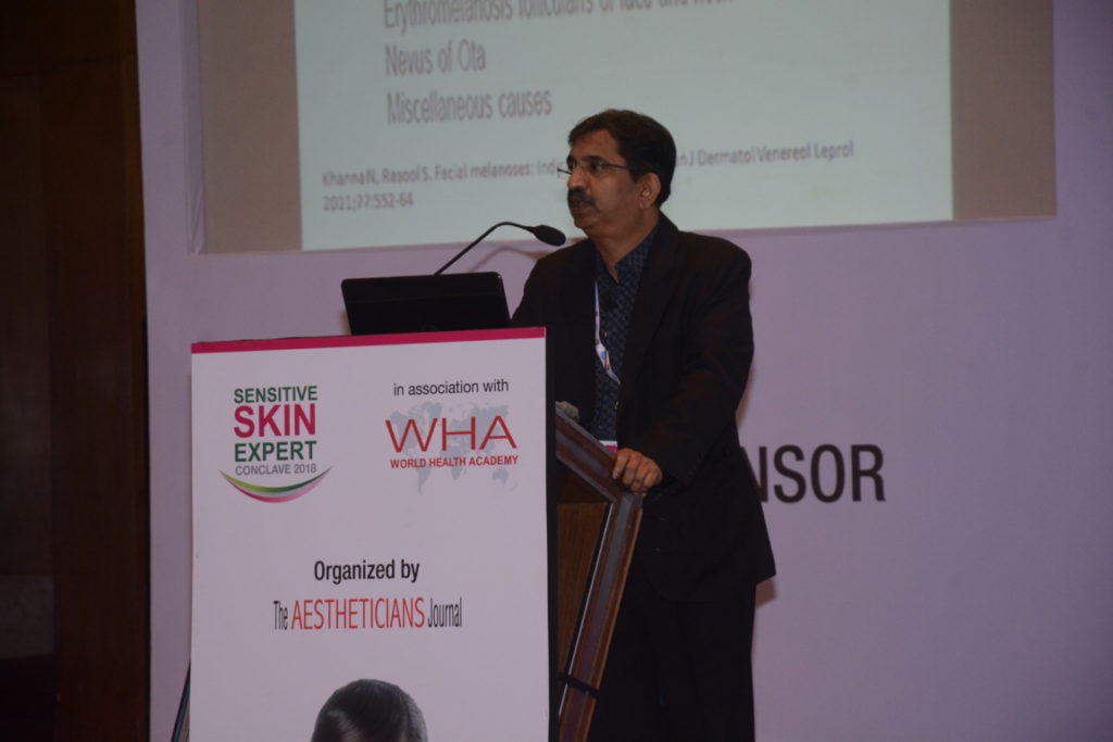 """Dr. B.S. Chandrashekhar  M.B.B.S., M.D., D.N.B., (Skin) Founder and Chief Dermatologist, """"CUTIS Academy of Cutaneous Sciences"""",Bengaluru"""